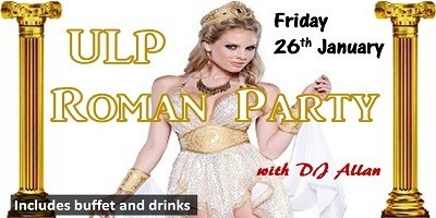 ULP ROMAN PARTY - DJ Allan
